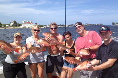 group fishing charter