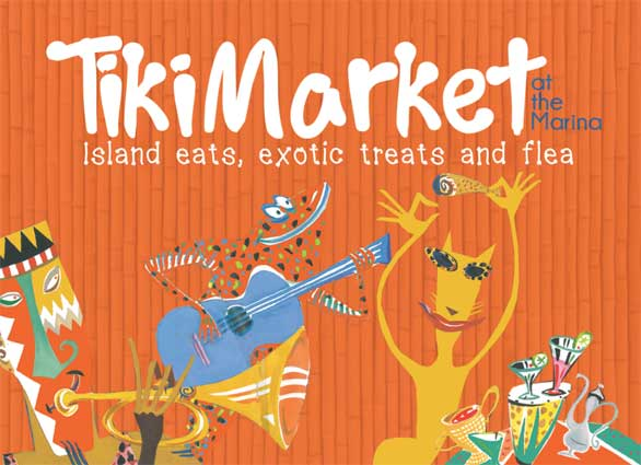 Tiki Market, Open Sundays 4pm - 7pm Yearound