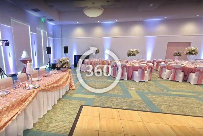 Virtual Tour of Wedding Venue